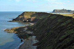Scalby Ness & Castle (Macca6691) Tags: sea seascape castle beach landscape coast landscapes seaside cliffs northsea coastline scarborough seafront seashore rockybeach northyorkshire scarboroughcastle northbay rockyshore flamboroughhead fileybrigg scalbyness