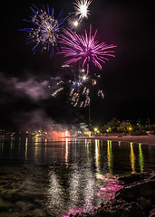 Happy Orthodox Easter (Vagelis Pikoulas) Tags: sea night canon easter spring europe long exposure fireworks may tokina greece porto april 6d 2016 germeno 1628mm