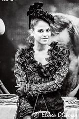 Modern Style Beauty - Bellesa Modernista (Eliseo Oliveras) Tags: barcelona street city people urban blackandwhite bw espaa woman cute sexy monochrome beautiful beauty mujer spain europe pretty femme young catalonia bn artnouveau catalunya bella espagne catalua belleza dona jove joven terrassa vallesoccidental modernista espanya catalogne modernstyle firamodernista eliseooliveras eliseooliveras xivfiramodernista