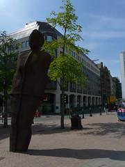 'Iron Man' by Antony Gormley, Victoria Square, Birmingham (Loz Flowers) Tags: birmingham statues publicart birminghamuk victoriasquare antonygormley victoriasquarebirmingham