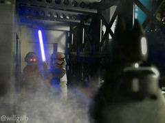 I don't know what's going on in this photo. (willgalb) Tags: comics star dc force lego galaxy batman stormtrooper lightsaber wars minifig superheroes finn marvel armored guardians bvs awakens starlord fn2187