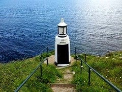 Spy Point Lighthouse (anshanjohn) Tags: walking cornwall polperro summer2012