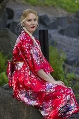 Red Memoirs (gxle) Tags: canon helsinki geisha yukata kimono hanami puisto puutarha 2016 roihuvuori 600d kirsikka japanilainen kirsikkapuisto rebelt3i 2k16