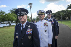 OShaughnessy assumed command of Pacific Air Forces (#PACOM) Tags: people hawaii singapore unitedstates command leadership usairforce pacaf pacom pacificairforces jointbasepearlharborhickam assumptionofcommand uspacificcommand pacom genterrencejoshaughnessy generaloshaughnessy