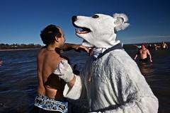 Polar Bears Swim (Wisconski) Tags: lakemichigan newyears polarbears sheboygan swim tradition winter wisconsin unitedstatesofamerica shevegas