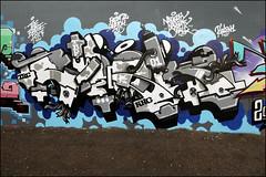 Crok (Alex Ellison) Tags: crok tbf eastlondon ilford urban graffiti graff boobs halloffame hof trc nnc