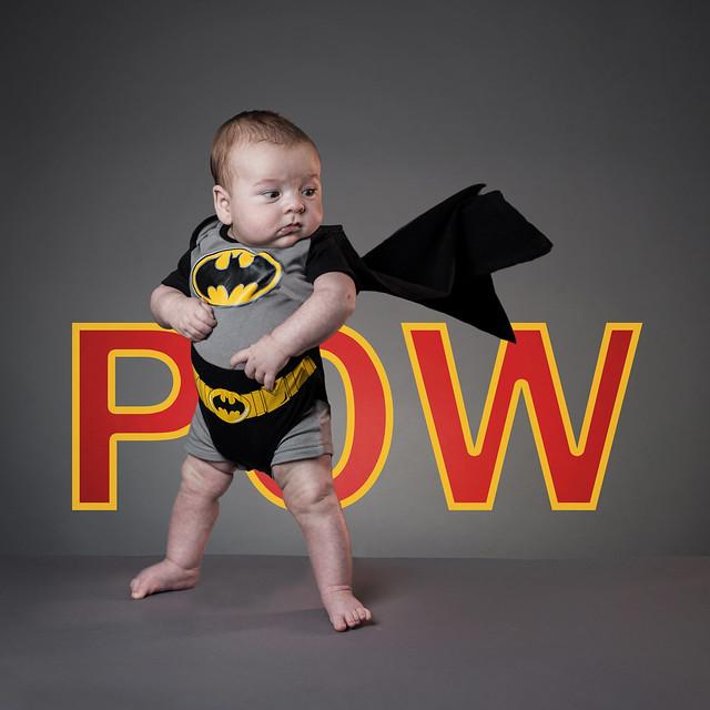 It's true, my son is Batman