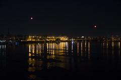 DSC_6204 (kabatskiy) Tags: city night bridge river walking shadows abstracts portrait