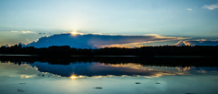 Blue Sunset (six28fifty) Tags: ocean blue sunset seascape reflection water clouds landscape maine harpswellme