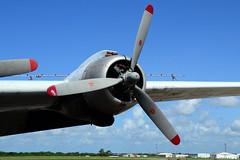 P&W R-2000, C-54 / DC-4 (Ian E. Abbott) Tags: prattwhitneyr2000twinwasp prattwhitneyr2000 pwr2000twinwasp pwr2000 prattwhitney pw r2000 twinwasp radialengine aircraftengine dc4 c54 aircraftpropeller propeller n67024 airbornesupport aerialdispersant aerialapplication aerialspraying sprayaircraft houmaterrebonneairport houmaairport khum hum houmalouisiana houma