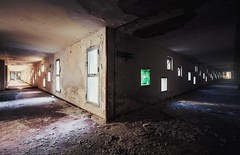 Dark or Light Side ? (Nils Grudzielski) Tags: old light dark floor decay leer gang forgotten urbanexploration gasse urbex abandonedplaces marode lostplaces morbide