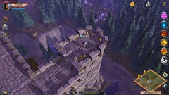 Guild Fortress - Albion Online (JamesGoblin) Tags: mac linux windows clicktomove multiplatform crossplatform android albiononline multiplayer art poster rpg computer videogames onlinegames games cyberculture computers fun entertainment fantasy medieval sandbox pc gaming game pvp mmorpg mmo online albion birdseye view birdseyeview screenshot screenshots interface gameinterface wall walls keep high height stone pine pines pinewood pinetree pinetrees guard guarding icon icons avatar avatars above