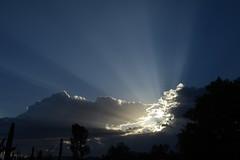 Crepuscular Rays 2 (Stan Celestian) Tags: crepuscularrays clouds cumulus crepuscular sunbeams