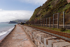 OUT OF SIGHT (skysthelimit333) Tags: train southwestcoast coast coastal devon teignmouth