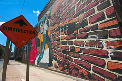 DT_001 ( Ed Lee) Tags: nikon 7100 tokina 1228 f4 downtown graffiti urban outdoor sunny sky contrast perspective street abstract paint wall sign harsh