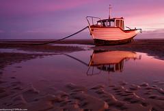 Meols Beach (1 of 7) (andyyoung37) Tags: beech meolsbeech merseyside reflections silhouette sea seaside sky sunrise thewirral