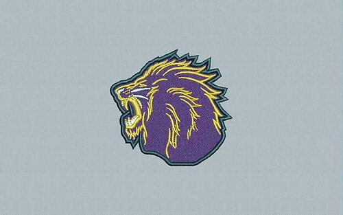 digitized #lionhead - true flat rate embroidery digitizing - prices start at $5.99 per design.  Email your artwork in pdf, jpg or png format to indiandigitizer@gmail.com.  www.IndianDigitizer.com  #FlatRateEmbroideryDigitizing #Indiandigitizer  #embroider