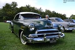 Chevrolet Deluxe (Monde-Auto Passion Photos) Tags: auto automobile chevrolet deluxe vert coup france 48h montargis villemandeur domaine lisledon