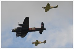 The BBMF in formation over Sywell. (Ciaranchef's photography.) Tags: bbmf ww2 ww2aircraft warbirds merlins spitfire battleofbritain airshow airdisplay royalairforce raf sywell ukaviation ukairshows nikonaviation d7000nikon propsandpistons