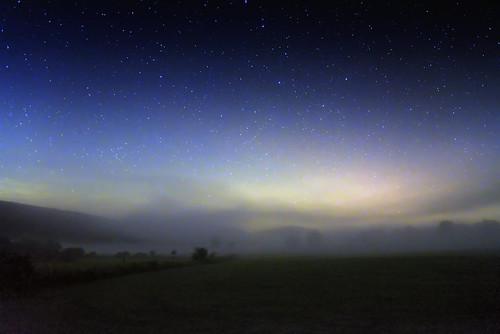 Foggy Night on the Plain