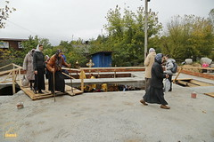 136. The Laying of the Foundation Stone of the Church of Saints Cyril and Methodius / Закладка храма святых Мефодия и Кирилла 09.10.2016