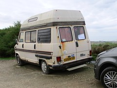 Talbot Express Autosleeper Camper (occama) Tags: c212fyd talbot express autosleeper 1986 camper van motor old rusty cornwall uk