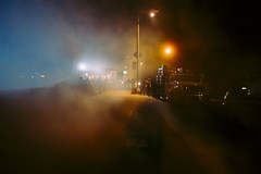 shooting in SF (Robin Jaffray) Tags: rx100 night fog sonydscrx100 sony colours ambiguity usa sanfrancisco sf