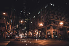 Night Life (Anthonypresley1) Tags: anthony presley anthonypresley chicago illinois light night urban citylife old retro vintage people dark city