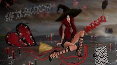 Fashion Killer (Anita Armendaiz) Tags: astralia blues breathe catwa head gacha lucky letter maitreya nanika on9 pumec rare salem macabre slink the ephifany witch