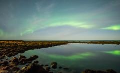 Reflection (katrin glaesmann) Tags: garur iceland northernlights auroraborealis nordlicht polarlicht unterwegsmiticelandtours photographyholidaywithicelandtours