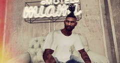 I'm weary of the ways of the world.. (Quaa'dir) Tags: secondlife miami avi avatar blacklivesmatter