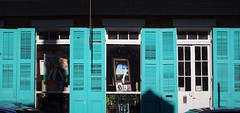 Turquoise (michael.veltman) Tags: new orleans nola street facade shutters art turquoise