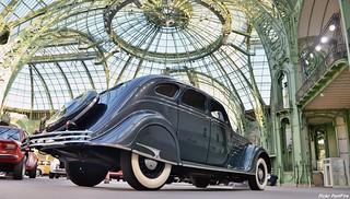 1934 Chrysler Airflow CU-eight au grand palais