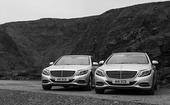 VCD Mercedes-Benz S Class (Bob McAteer) Tags: canon silver mercedes benz blackwhite aberdeen 6d sclass robertmcateer valentinechauffuerdrive
