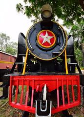 At the Rail Museum (devmunuswamy) Tags: railroad india train nikon technology outdoor sigma rail vehicle machines 2015 railmuseum nikond3300 sigma816 devmunuswamy