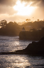 Laguna Beach Sunset - California (ChrisGoldNY) Tags: ocean travel mist beach fog forsale albumcover bookcover southerncalifornia bookcovers lagunabeach albumcovers licensing chrisgoldny chrisgoldberg chrisgold chrisgoldphoto chrisgoldphotos
