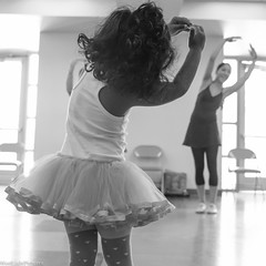 Learning starts with imitation (Raj.Koppula) Tags: blackandwhite composition blog moment gesture learn ridhi balledance westlightpictures