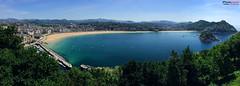 San Sebastian - Pais Vasco - iPhoneg (Zamana Underground) Tags: naturaleza verde landscape mar agua playa paisaje bilbao momento panoramica paisvasco oceano iphone instantanea iphongraphic