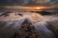 ...See You Again... (Farizun Amrod Saad) Tags: morning sea panorama seascape beach nature rock sunrise canon landscape waves awesome filter malaysia terengganu singhray cendering pandak rgnd