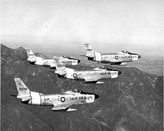 23791 is F-86L-40, 18426 is F-86L-35 (San Diego Air & Space Museum Archives) Tags: aircraft f86d northamericansabre
