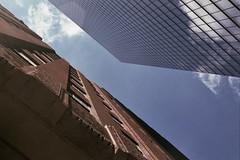 Neighbors (jookdal) Tags: new old newyorkcity newyork classic modern worldtradecenter wtc skyward x370 verizonbuilding 7worldtradecenter barclayvesey 140weststreet