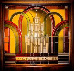 The Grace Building/Hotel stained art glass (S.P. Bailey) Tags: sydney stainedglass 1930 glazedterracotta gracebuilding commercialgothic 7779yorkstreet dtmorrowandpjgordon