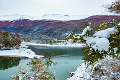 Rio Lapataia (explore) (Jos M. Arboleda) Tags: patagonia argentina canon tierradelfuego ushuaia eos nieve jose 5d invierno arboleda lapataia parquenacional markiii ef1740mmf4lusm josmarboledac
