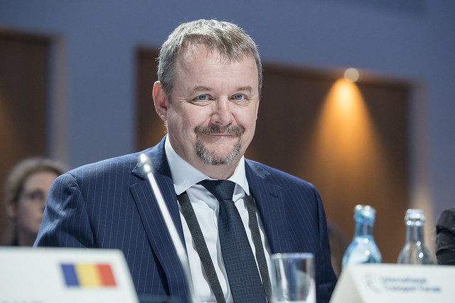 Dan Ťok at the Closed Ministerial Session