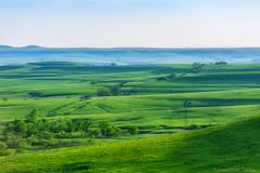 Flint Hills Windmill (Jonathan Tasler) Tags: windmill grass landscape hills kansas prairie rollinghills flinthills