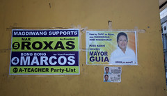 Elections 2016 campaign signs 01 (_gem_) Tags: street city urban sign typography words text philippines politicians signage manila type metromanila politicianssigns elections2016