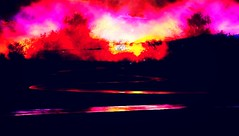 Burning (bruno.ferrandis) Tags: red yellow forest fire countryside smoke flames burning criminal disaster glowing incandescent redhot deadbody arson feu fiery incendie dazzling ardent arsonist criminel