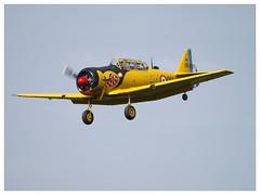 North American T-6G Texan  F-AZBQ (cn 182-535) (Aerofossile2012) Tags: aircraft harvard airshow warbirds trainer avion texan t6g snj 2014 northamerican cerny toratoratora ferté
