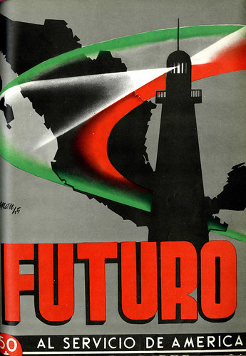 Portada de Josep Renau Berenguer para la Revista Futuro (diciembre de 1945)