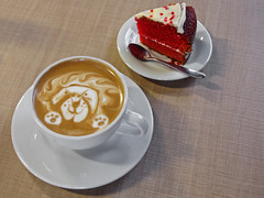 No. 1102 - 13 de mayo/16 (s_manrique) Tags: caf postre comida len torta caliente bebida platos redvelvet cuchara pocillo